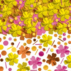Hawaiian Themed Party Summer Warm Metallic Confetti
