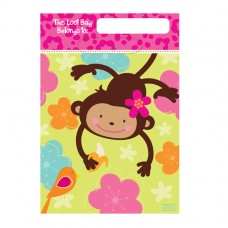 Monkey Love Folded Loot Bags