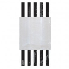 PARTY BAG SM STRIPE - BLACK