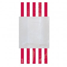 PARTY BAG SM STRIPE - AP RED
