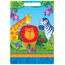 Jungle Animals Loot Bags