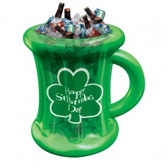 Green Inflatable Cooler Mug