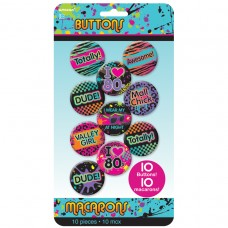 BUTTONS 80 S