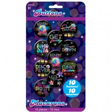 BUTTONS 70 S DISCO
