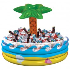 INFLATABLE COOLER:TROPICAL PAL