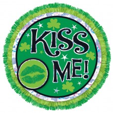 Kiss Me Big Fun Button
