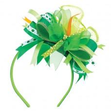 Green Ribbon Delux Headband
