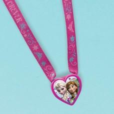 Frozen Heart Charm Necklaces