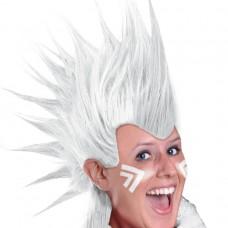 MOHAWK WIG - WHITE