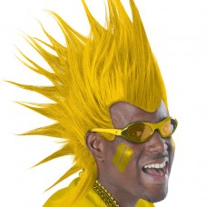 MOHAWK WIG - YELLOW
