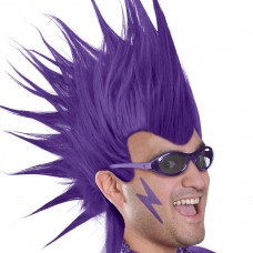 MOHAWK WIG - PURPLE