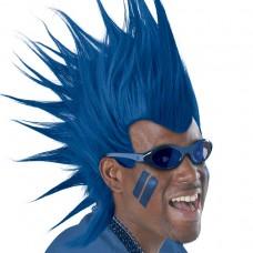 MOHAWK WIG - BLUE