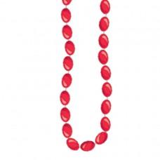 NECKLACE MET RED