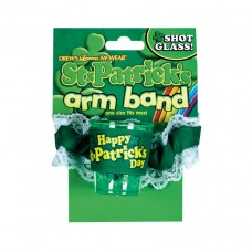 St. Patrick's Day Shot Glass Armband