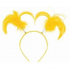 HEADBOPPER PONYTAIL YELLOW
