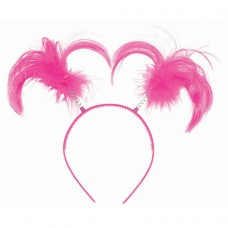 HEADBOPPER PONYTAIL PINK