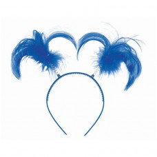 HEADBOPPER PONYTAIL BLUE