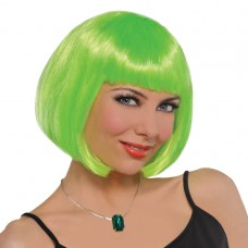 Lime Short Bob Wig