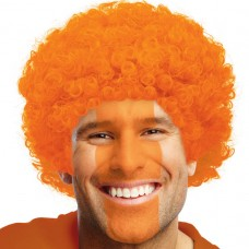 CURLY WIG ORANGE
