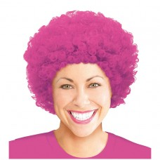 WIG AFRO PINK