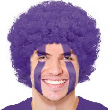 CURLY WIG PURPLE