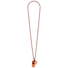WHISTLE ON CHAIN ORANGE