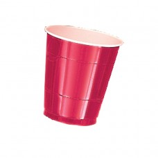 Apple Red Plastic Cups 355ml