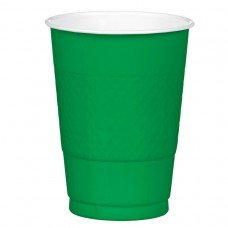 16 OZ PLST CUP 20 CT-FST GREEN