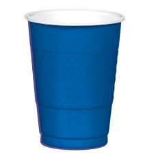 BRT RYL BLUE 16 OZ PL CUP 20CT