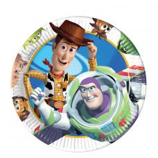 PLATE 23cm lic:TOY STORY 3