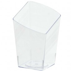 MINI PLS SLANTED TUMBLER CLEAR