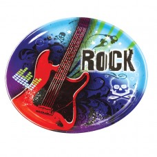 Rock Star Plastic Platter