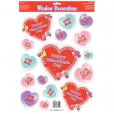 DEC WINDOW vinyl:CANDY HEARTS