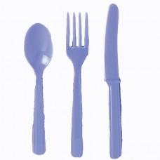 Hydrangea Plastic Cutlery