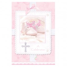 Tiny Blessings Pink Invitations