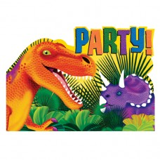 INVITE:PREHISTORIC PARTY