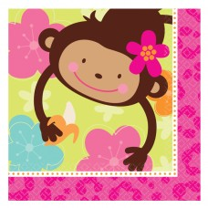 Monkey Love Luncheon Napkins