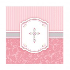 LN LC COMMUNION BLESSINGS PINK
