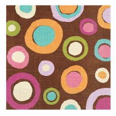 Cocoa Dots Luncheon Napkins (ECO)
