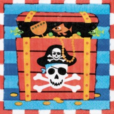 Pirates Treasure Luncheon Napkins