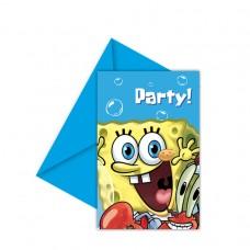 INVITE lic:Spong Bob Party