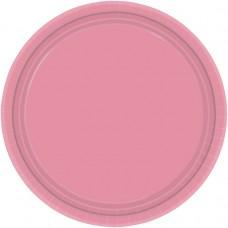 Pretty Pink Paper Plates 17.7cm