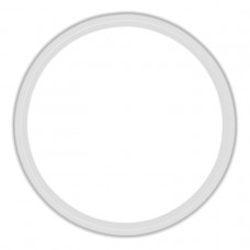 Frosty White Paper Plates 17.7cm