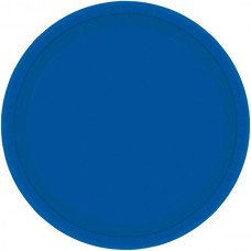Bright Royal Blue Plate - Paper 22.8cm