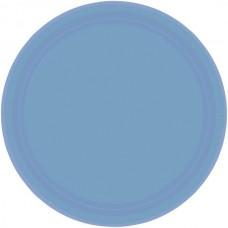 Pastel Blue Plate - Paper 22.8cm