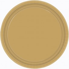 PLATE 22.8cm s/c:gold