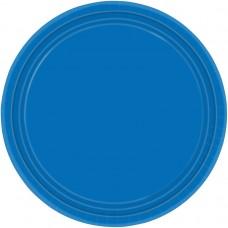 PLATE 22.8cm s/c:marine blue