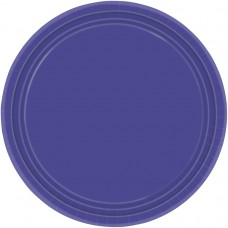 PLATE 22.8cm s/c:purple