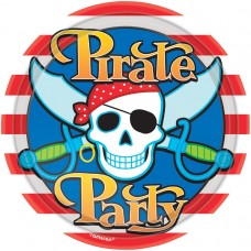 PLATE 22.8cm:PIRATE PARTY