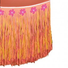 Hibiscus Pink Tableskirt